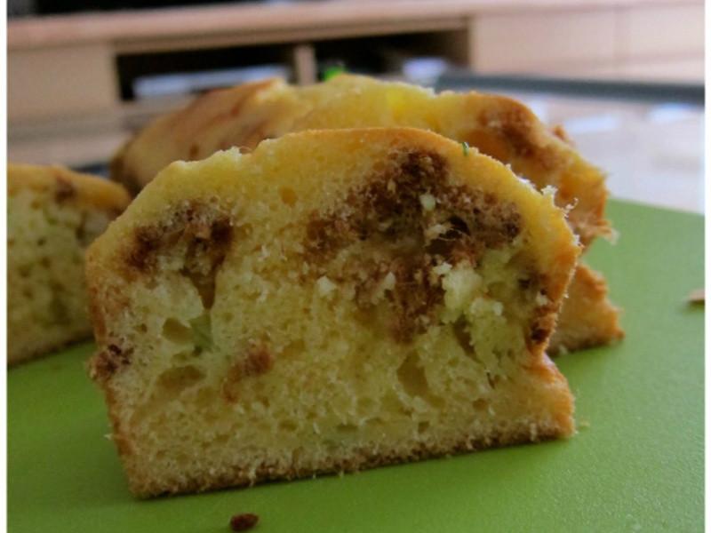 鹹香的肉鬆蔥鹹蛋糕 - 保證超級簡單喔!