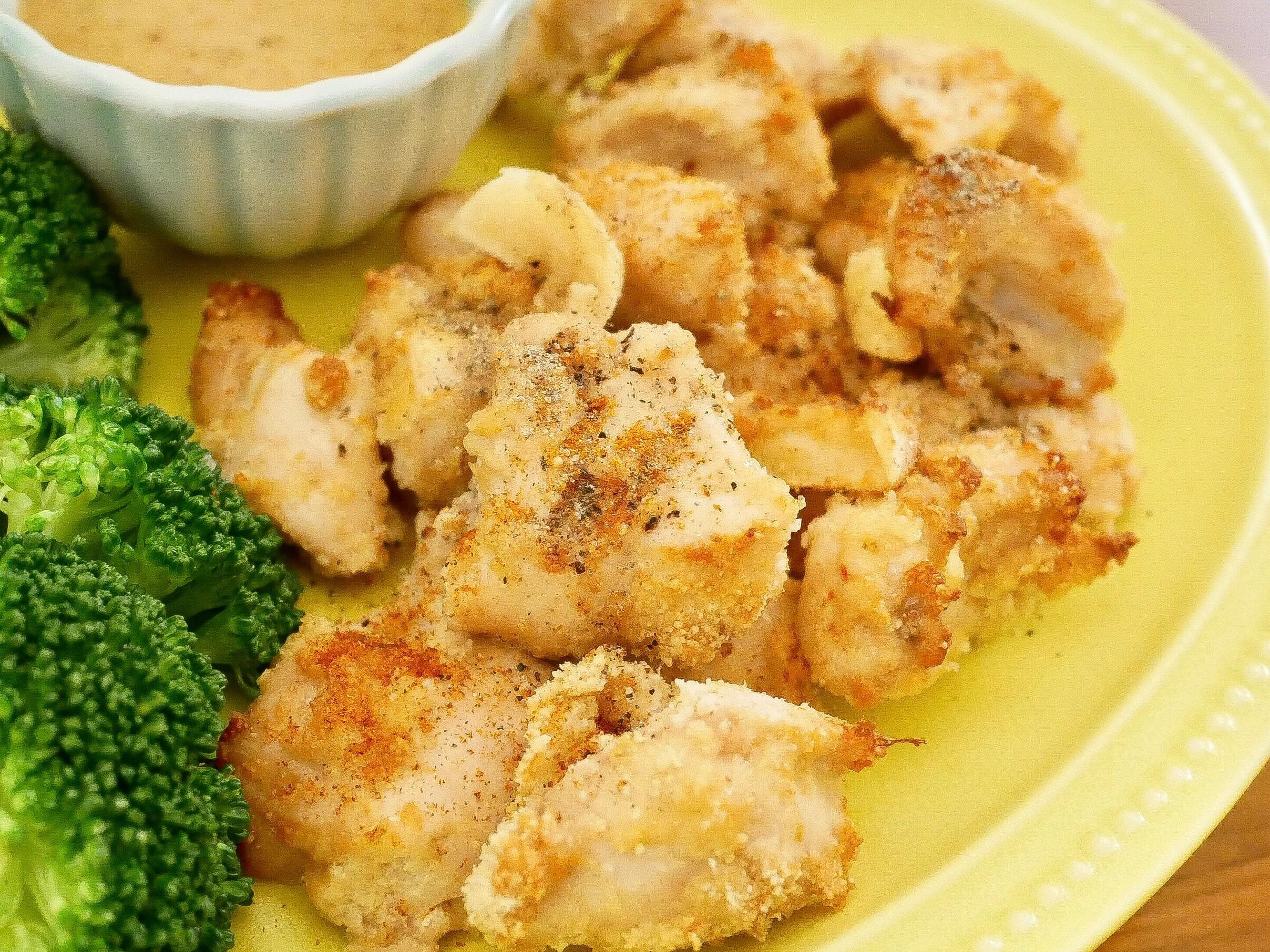 氣炸鍋低碳料理-蒜香豆乳雞