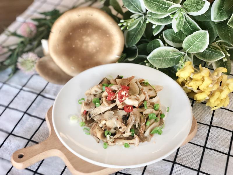 免顧爐.薑麻油香煎鮮菇/0水鍋