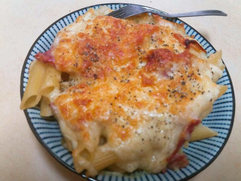 焗烤義大利麵(超級偷懶)