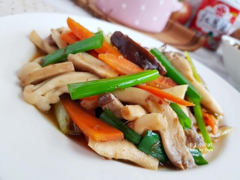 紅蔥炒三菇—「好菇道營養料理」