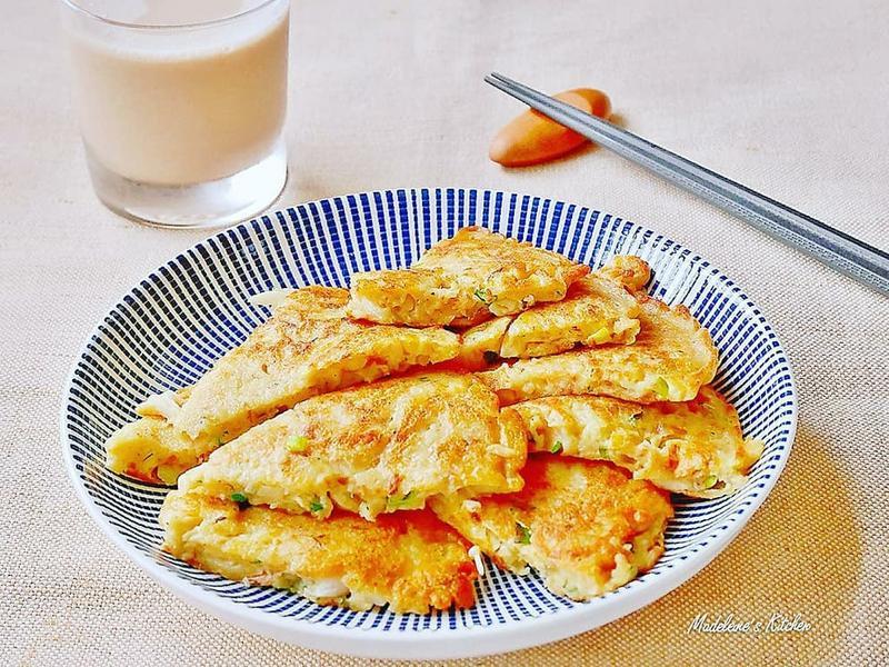 早安雪白菇煎餅【好菇道營養料理】