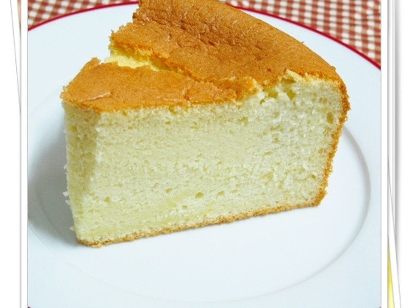 香草戚風蛋糕