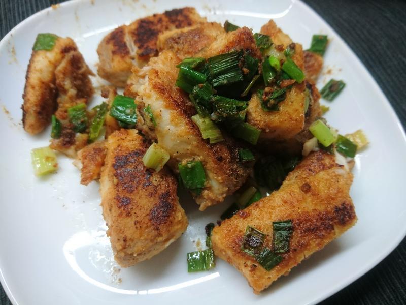 豆香魚片 (生酮/低醣)