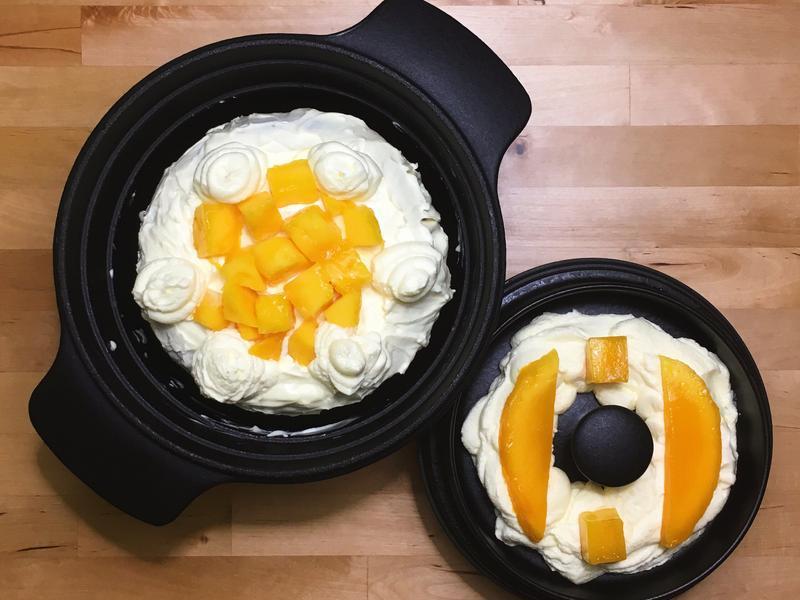 奶油芒果蛋糕
