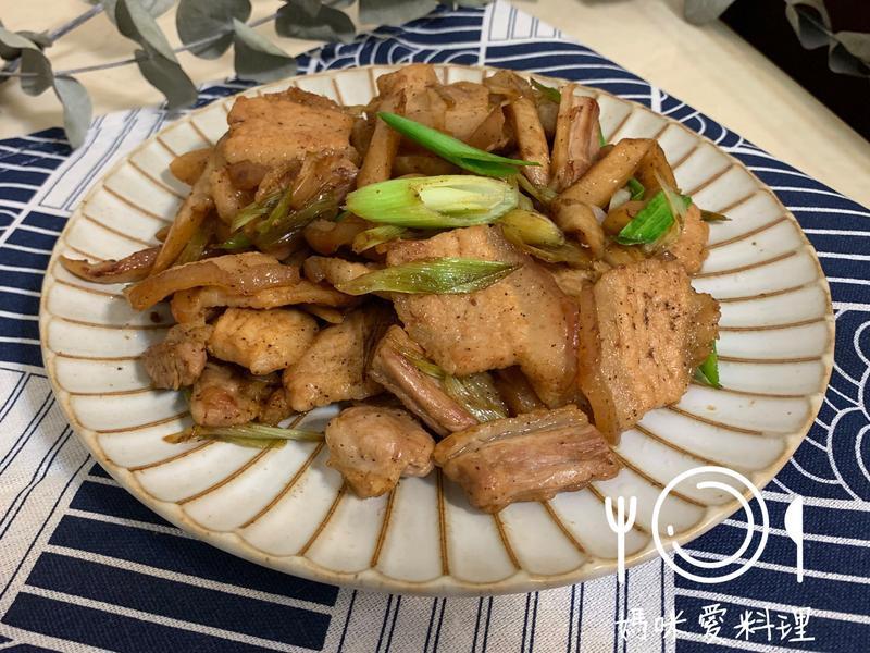 菜脯炒五花肉(蘿蔔乾)