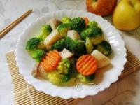 涼拌杏鮑菇花椰菜