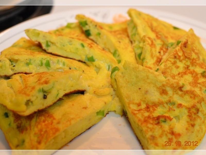 [四季江戶味之秋季料理]-南瓜起司蔥蛋