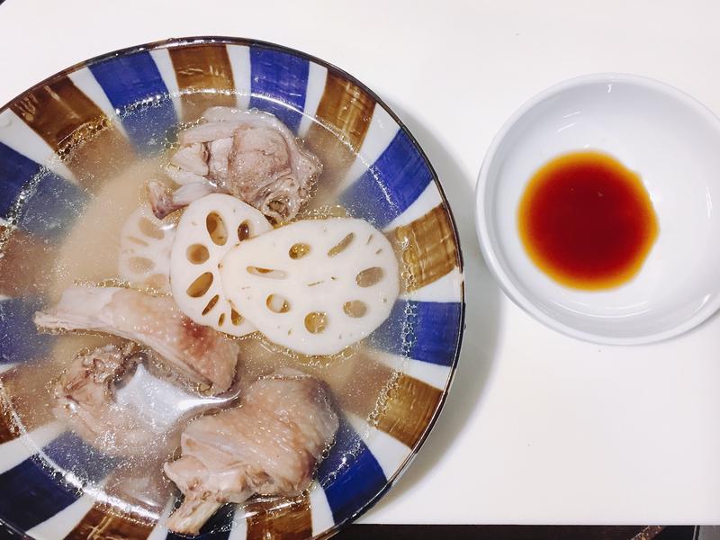 吃在地吃當季蓮藕雞湯