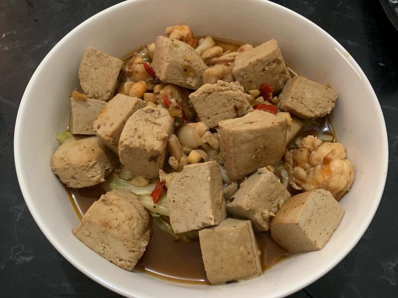 麻辣臭豆腐泰國蝦