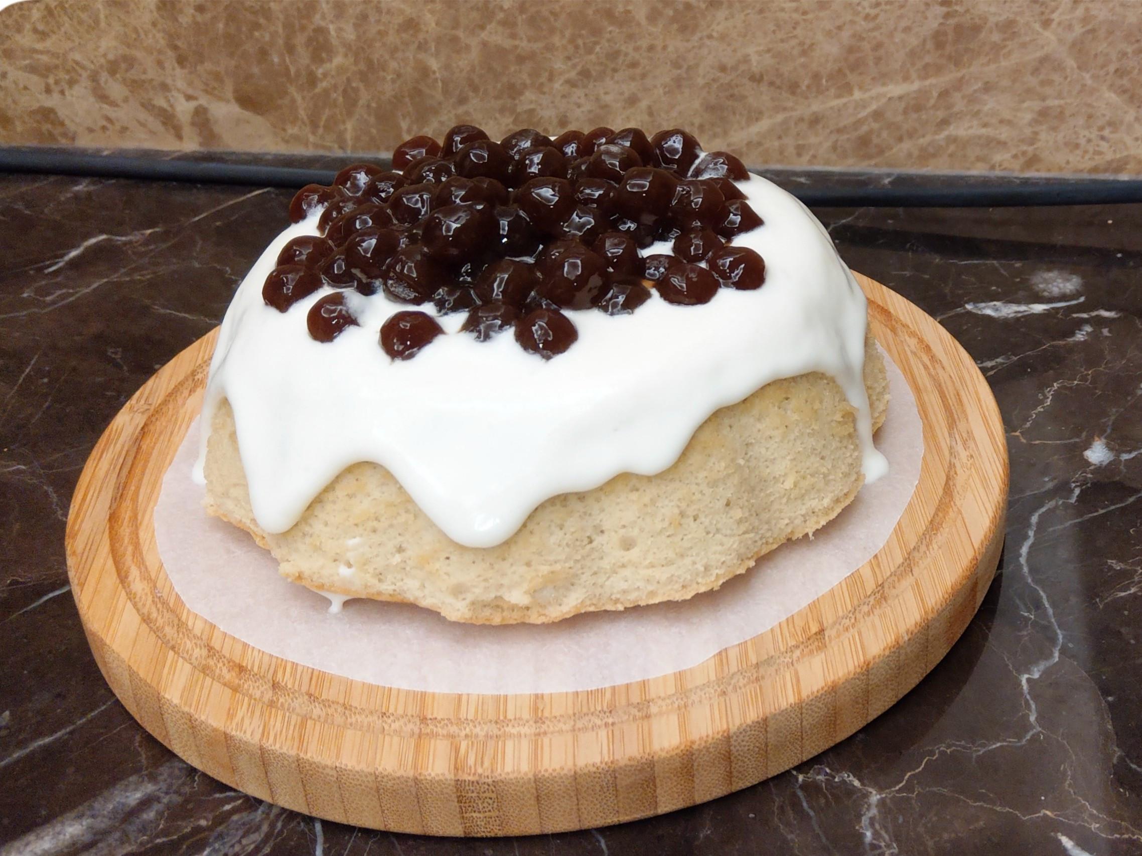 珍珠奶茶蛋糕【用珍奶做蛋糕】