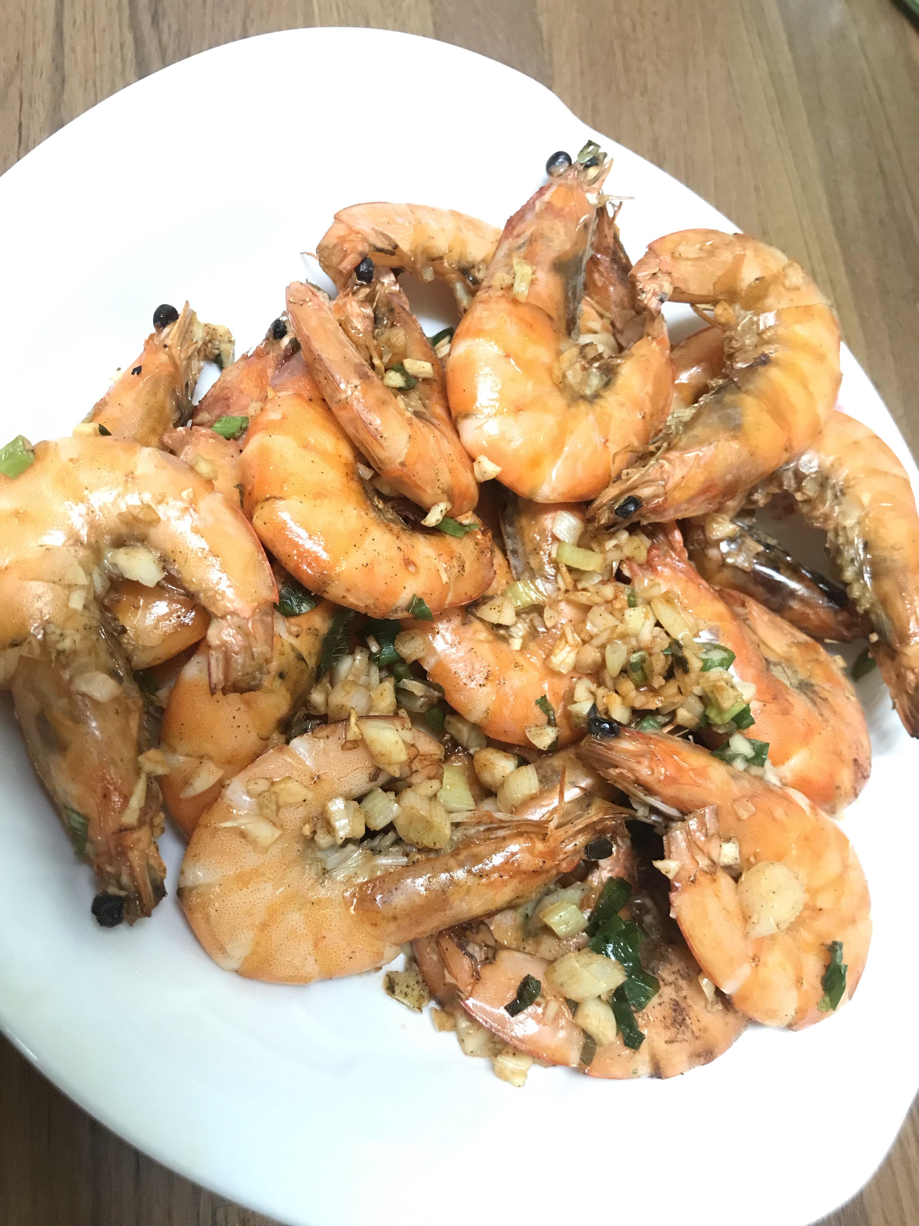 鹹酥蝦-氣炸鍋