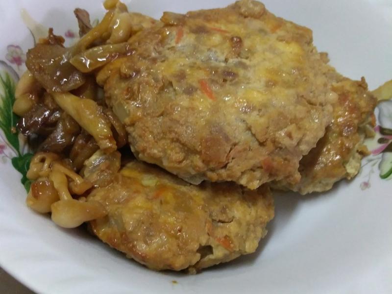照燒菇菇漢堡肉【好菇道營養料理】