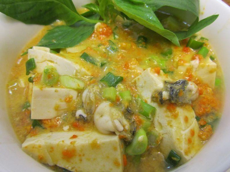 [一蟹三吃]蟹黃鮮蚵豆腐