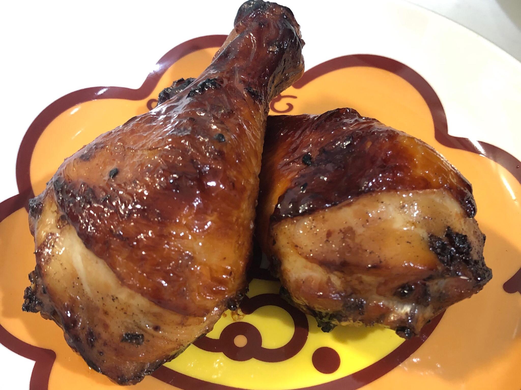 氣炸鍋烤雞腿