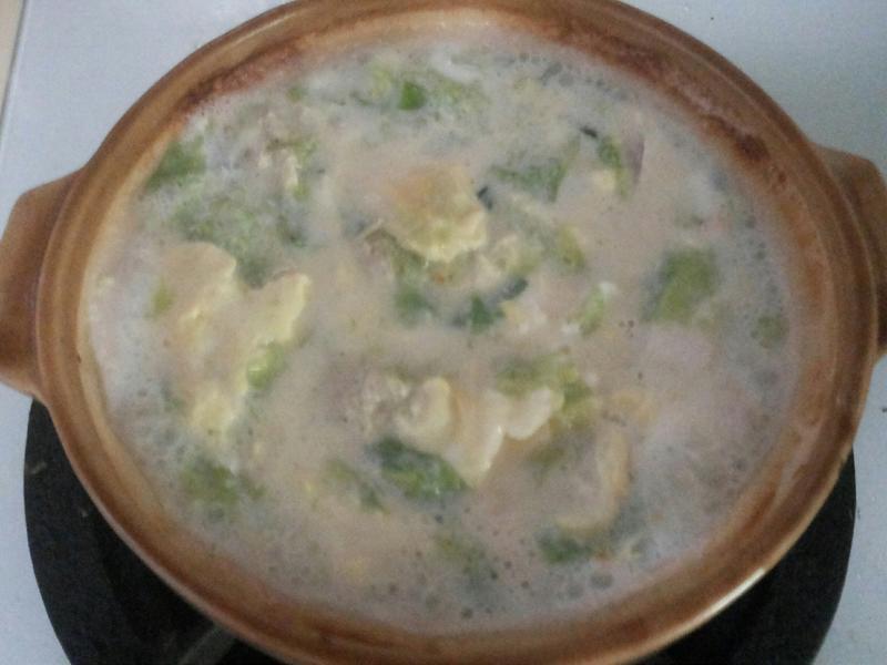 豆漿味增湯(蛋白質多多)