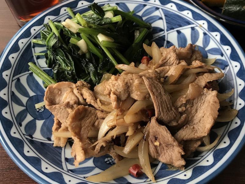 薑絲炒豬肉(台灣版薑燒豬肉/薑汁燒肉)