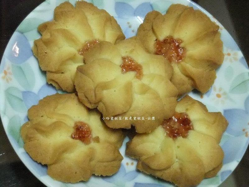 ღ小吟愛做菜ღ手工餅乾『香草小花小西餅』