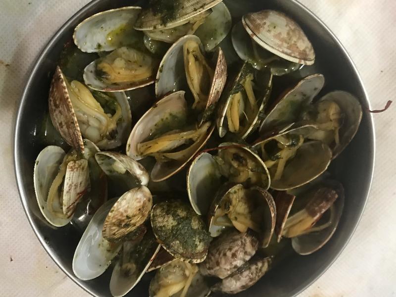 蒜香蛤蠣加熱-新店民權氣炸鍋食譜