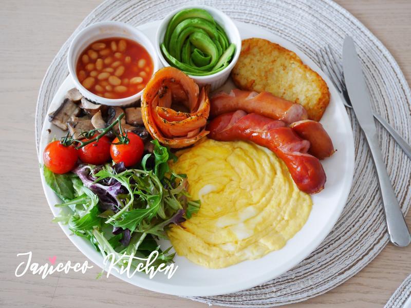 西式主菜🥘美式全日早餐