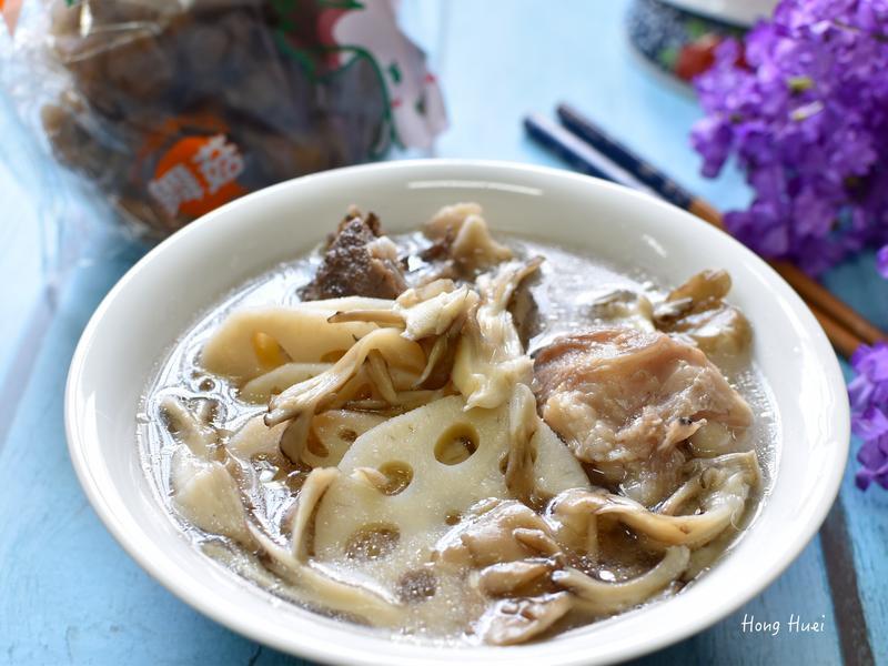 舞菇蓮藕排骨湯「好菇道營養料理」