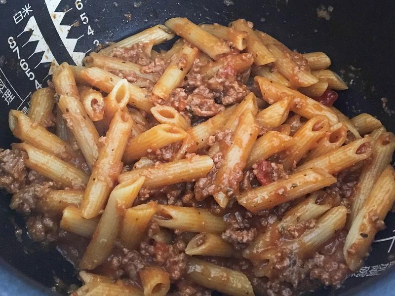 一鍋到底番茄肉醬筆管麵