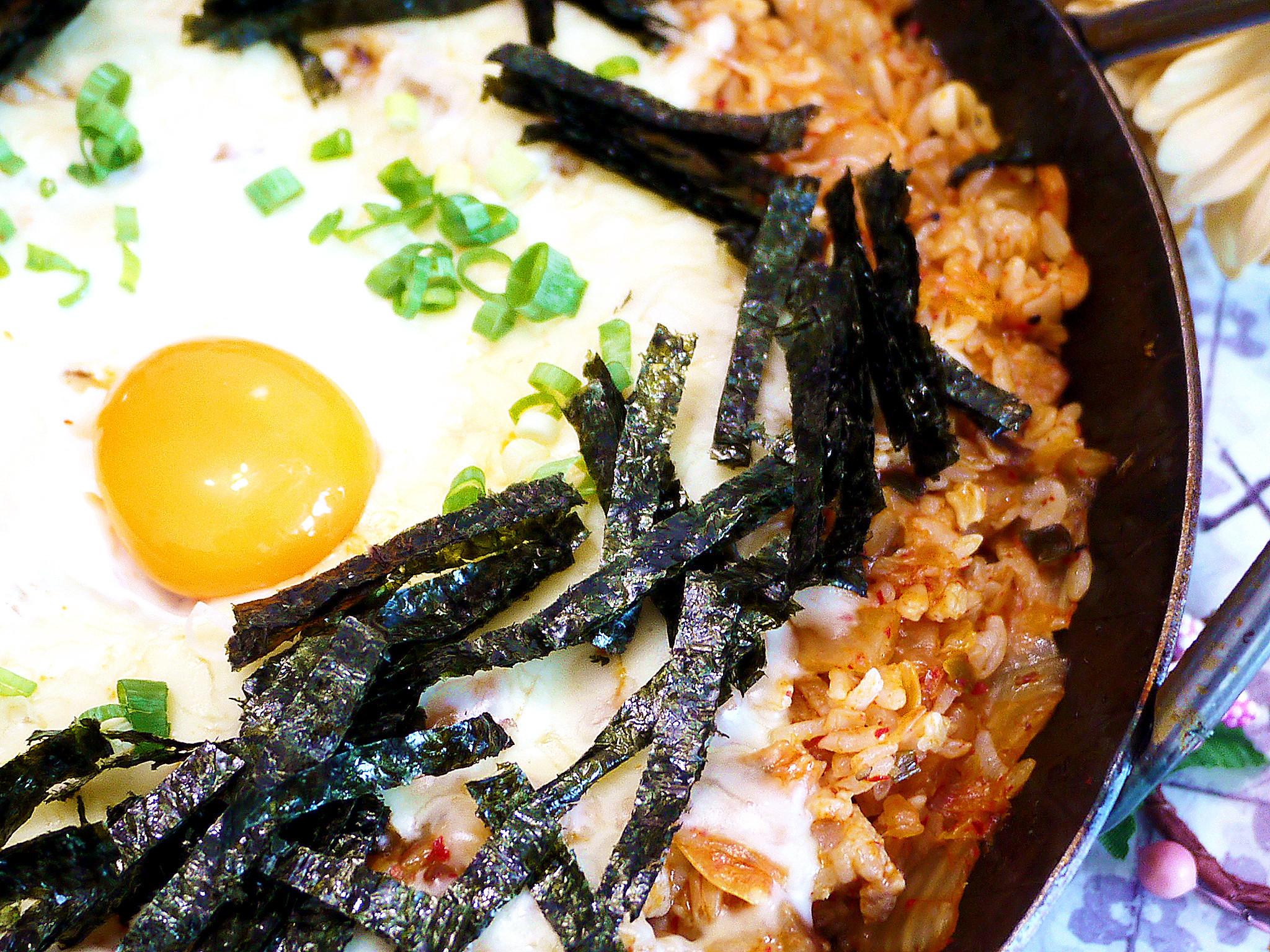鮮菇泡菜起司鍋巴飯「好菇道營養料理」