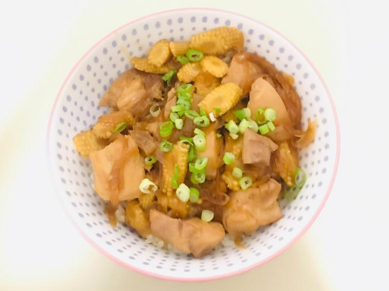 懶人版雞肉壽喜燒蓋飯