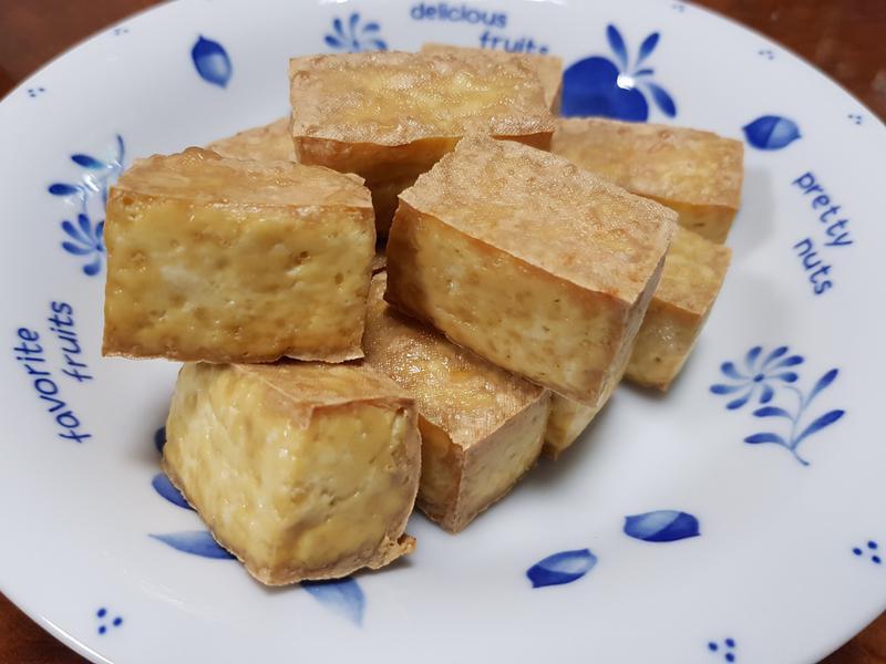 氣炸金黃豆腐