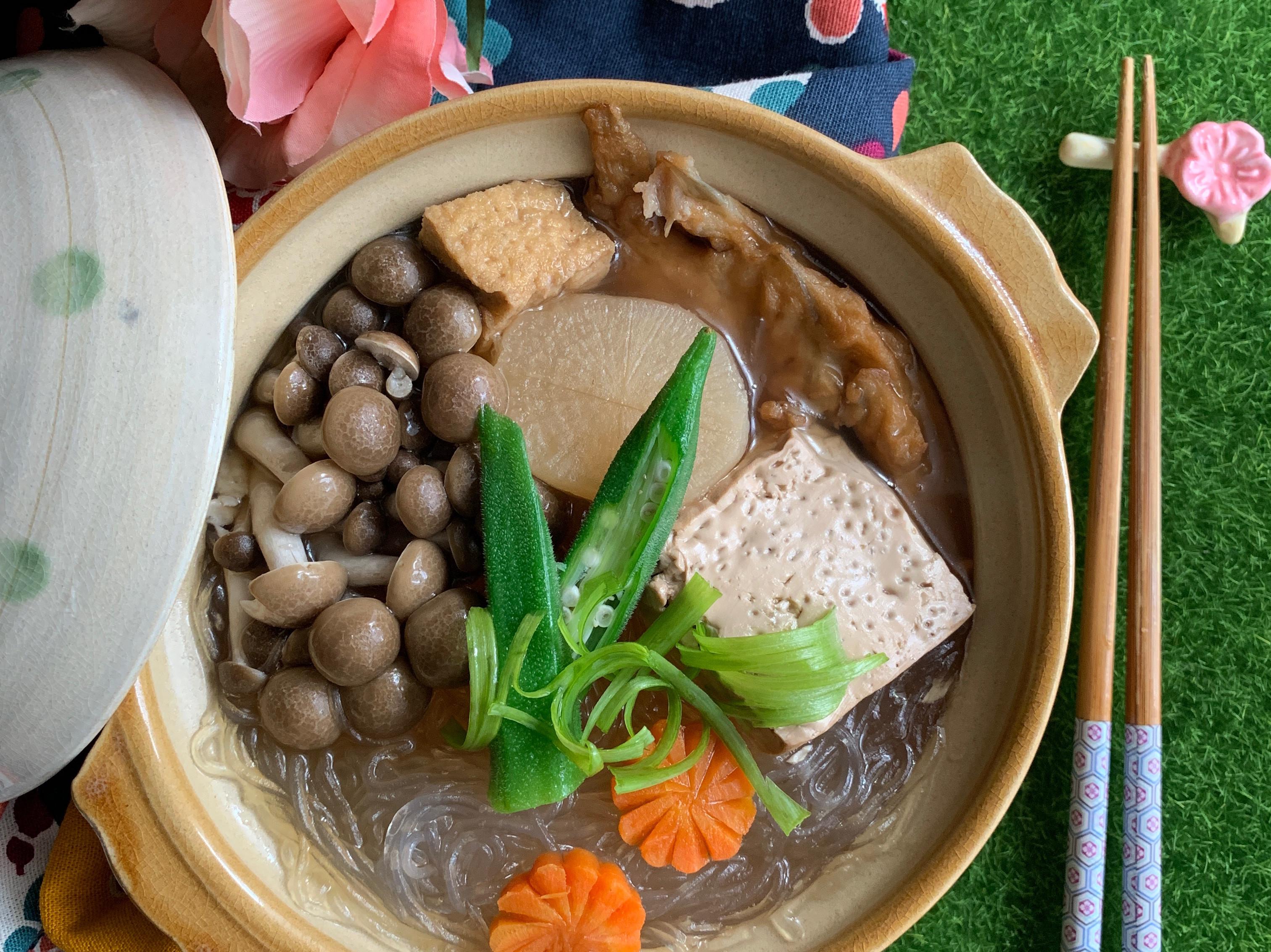 壽喜菇菇燒【好菇道營養料理】