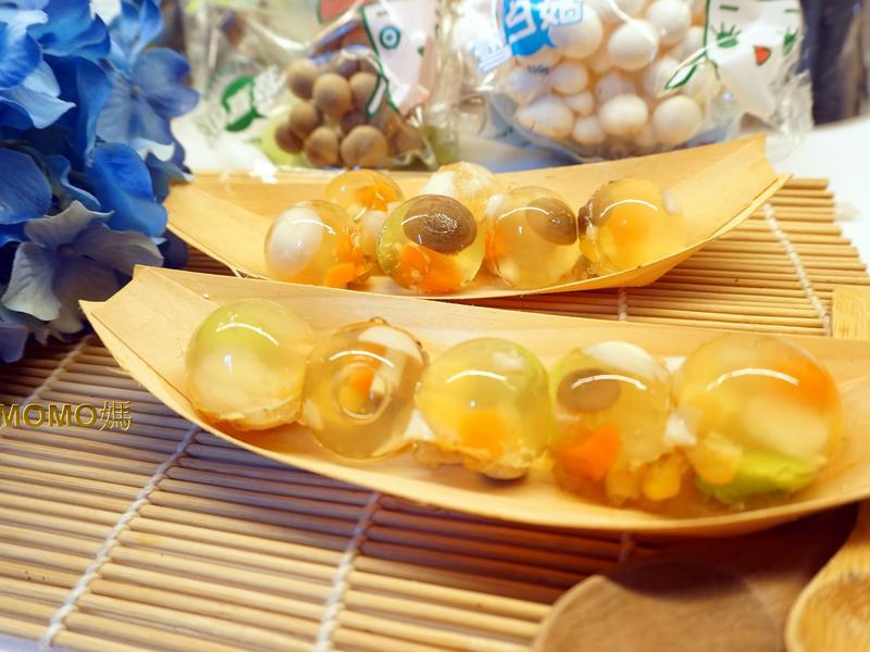 涼夏水晶纖菇球凍~【好菇道營養料理】