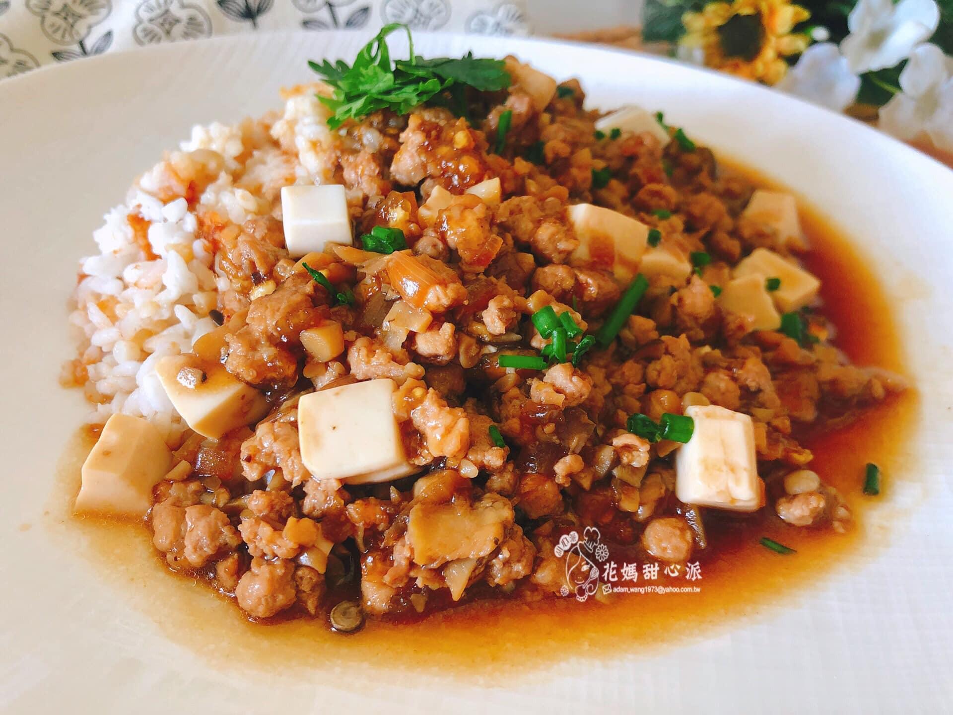 好菇肉醬豆腐燴飯(好菇道營養料理)