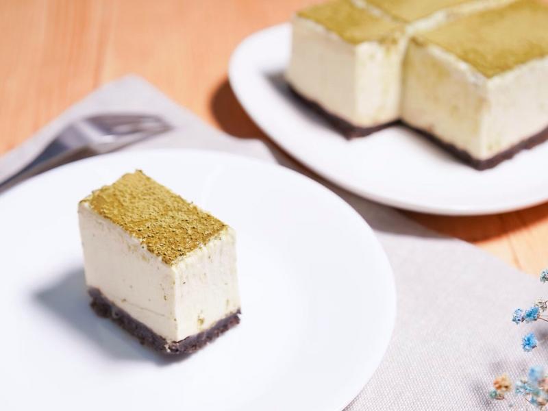 ⭐️免烤箱⭐️抹茶起司蛋糕