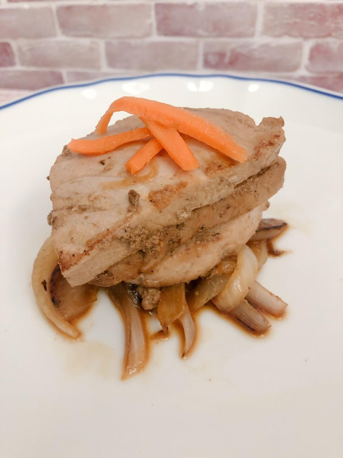 低醣料理 <海鮮> 柚香醬燒鮪魚排
