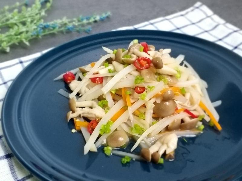 醋溜鮮菇土豆絲~鴻喜菇【好菇道營養料理】