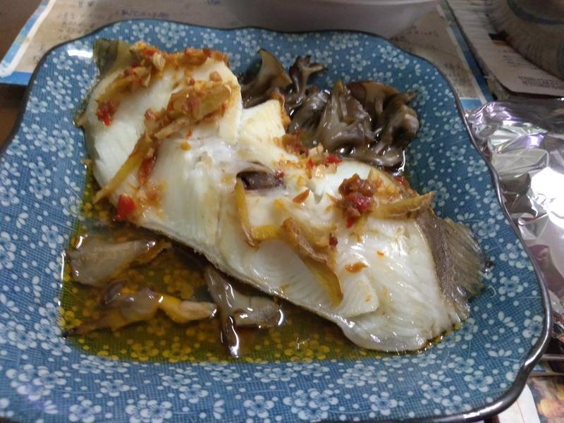 xo醬蒸菇菇鱈魚【好菇道營養料理】