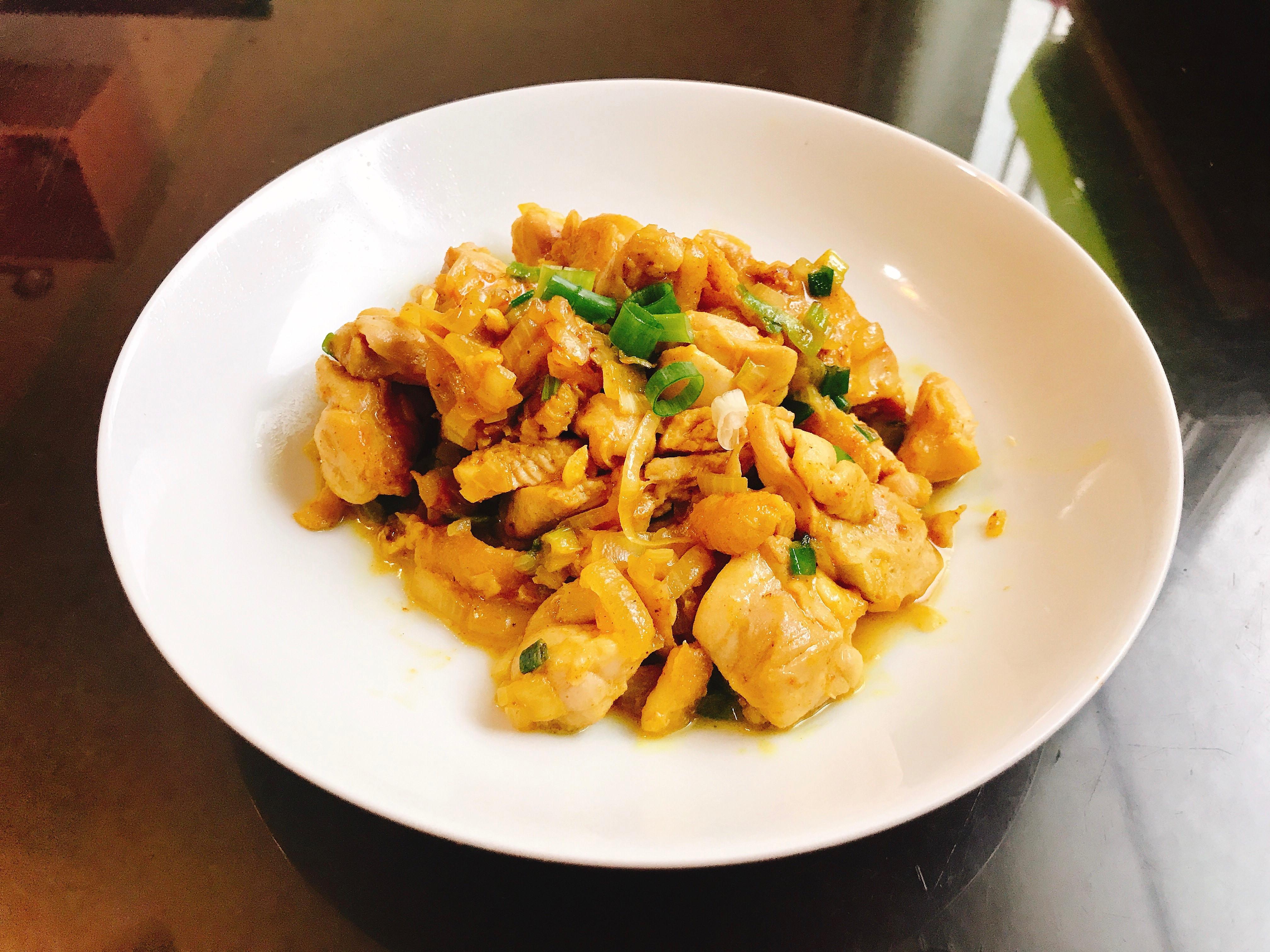 洋蔥咖喱嫩雞