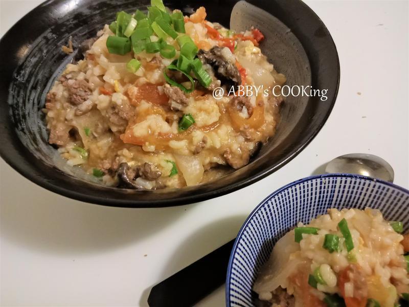 牛肉蔬菜燉飯