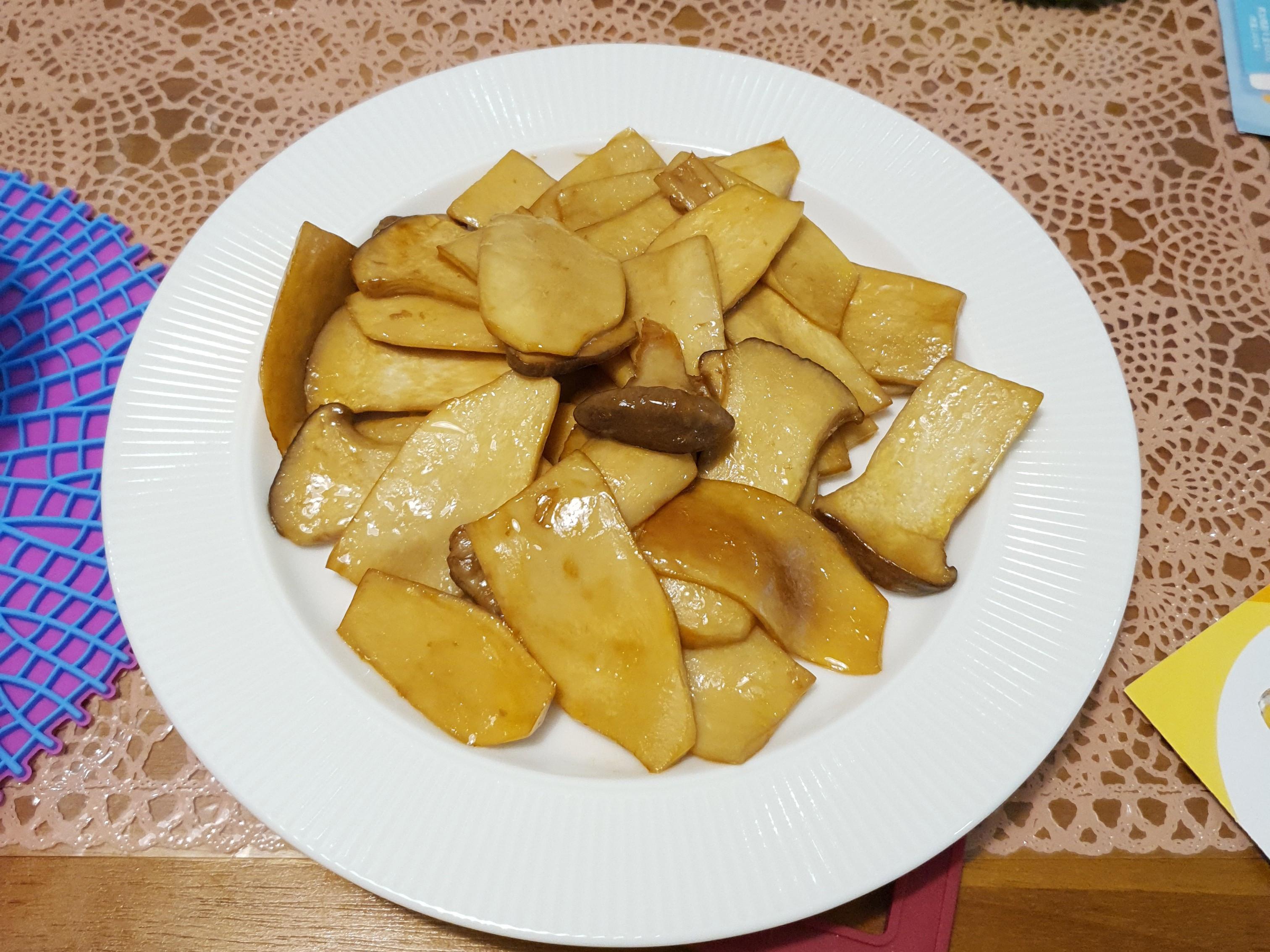 超簡單~醬燒奶油杏鮑菇~《零廚藝料理》