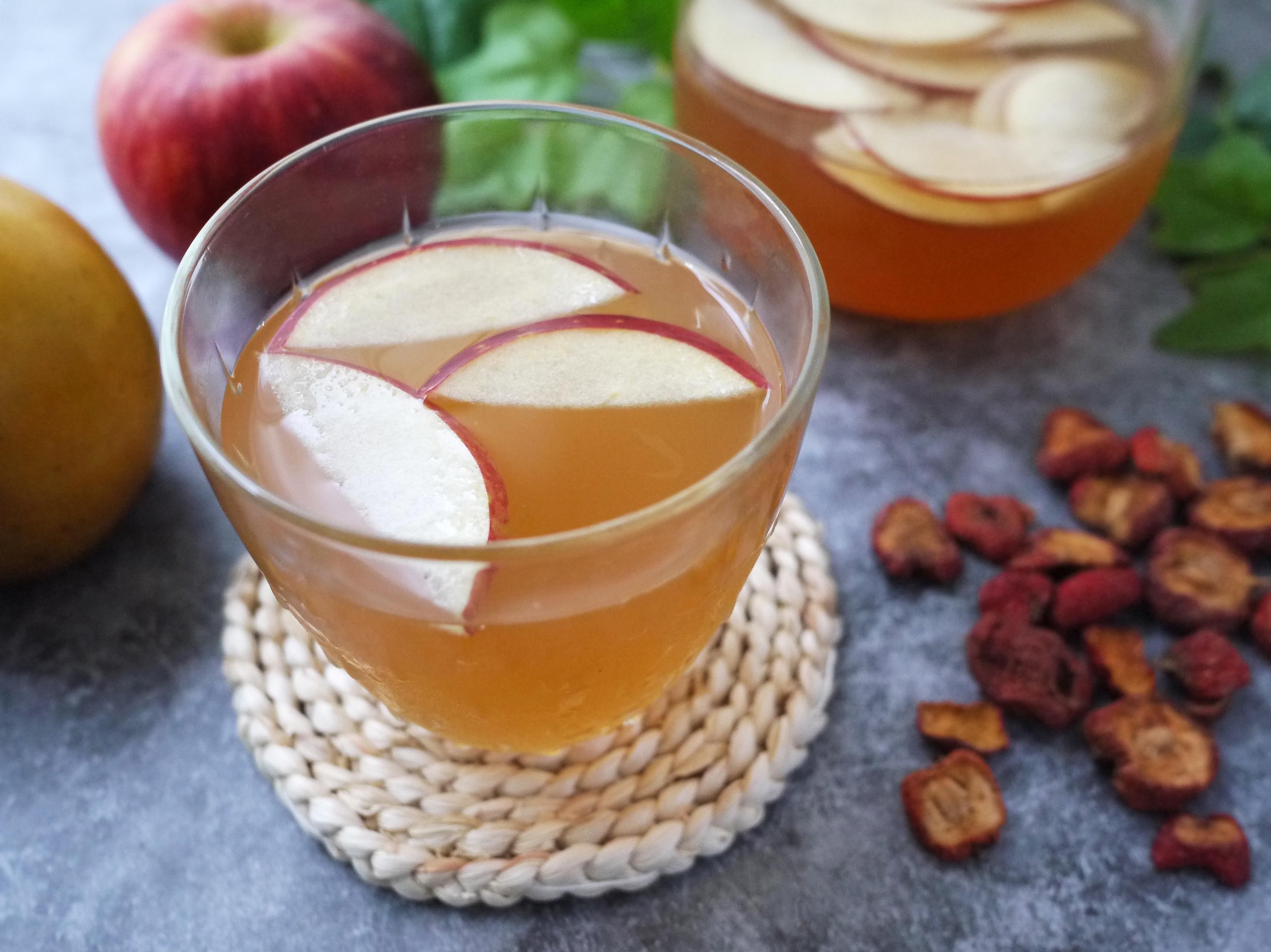 美顏仙楂蘋果茶【萬用鍋版】