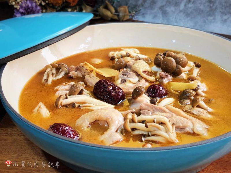 菇菇麻油雞湯 - 好菇道營養料理