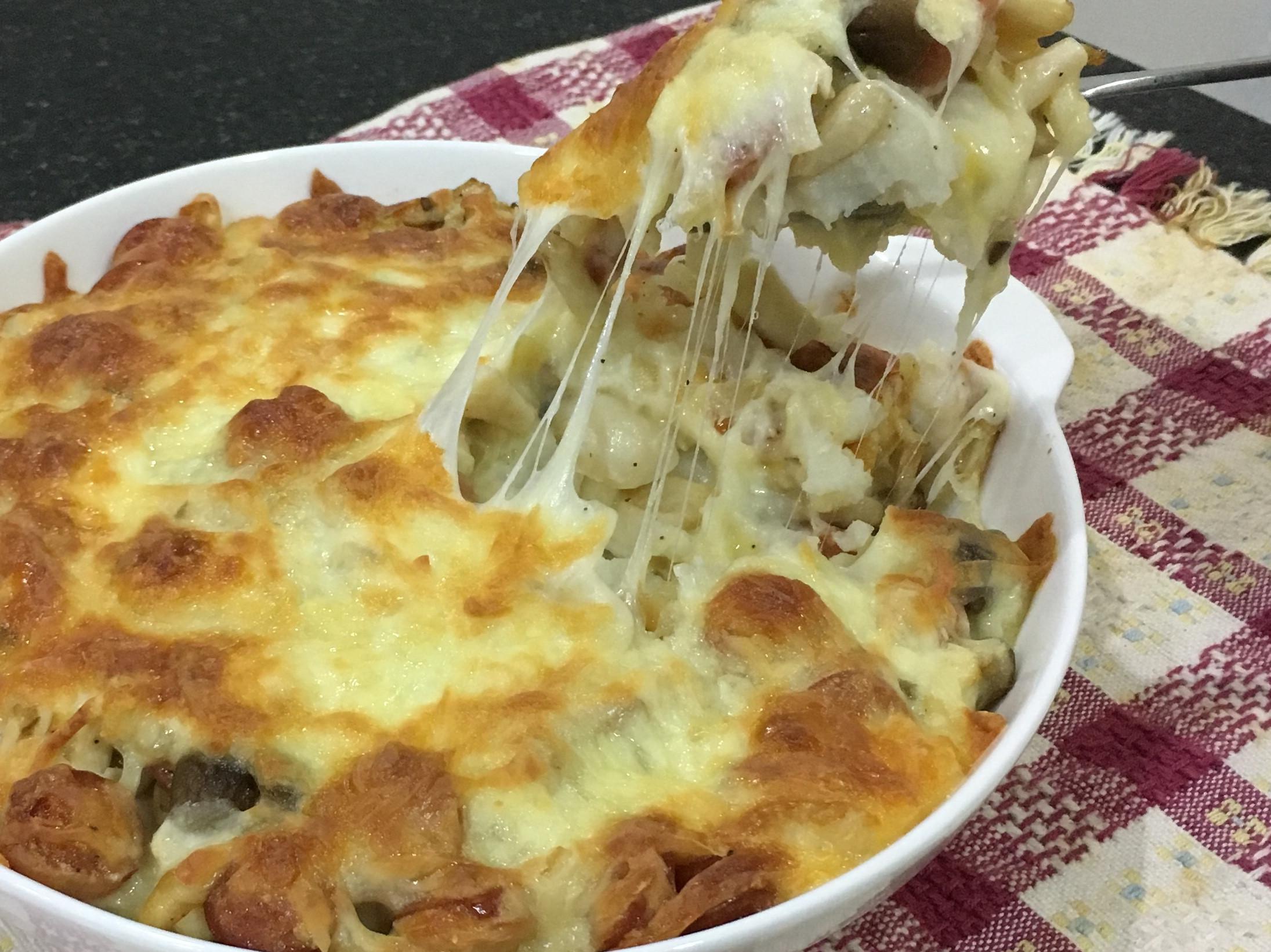 雙菇焗烤馬鈴薯【好菇道營養料理】