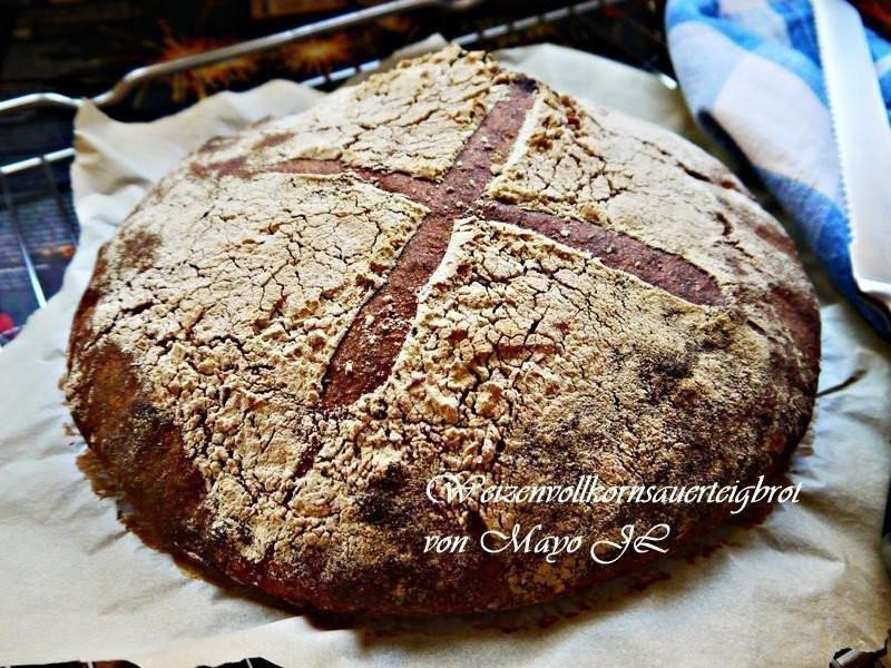 山林小屋:小麥全麥酸麵糰麵包