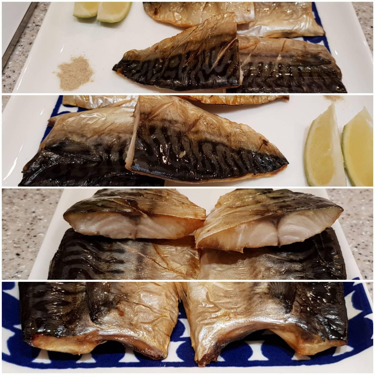 IH爐連烤薄鹽鯖魚