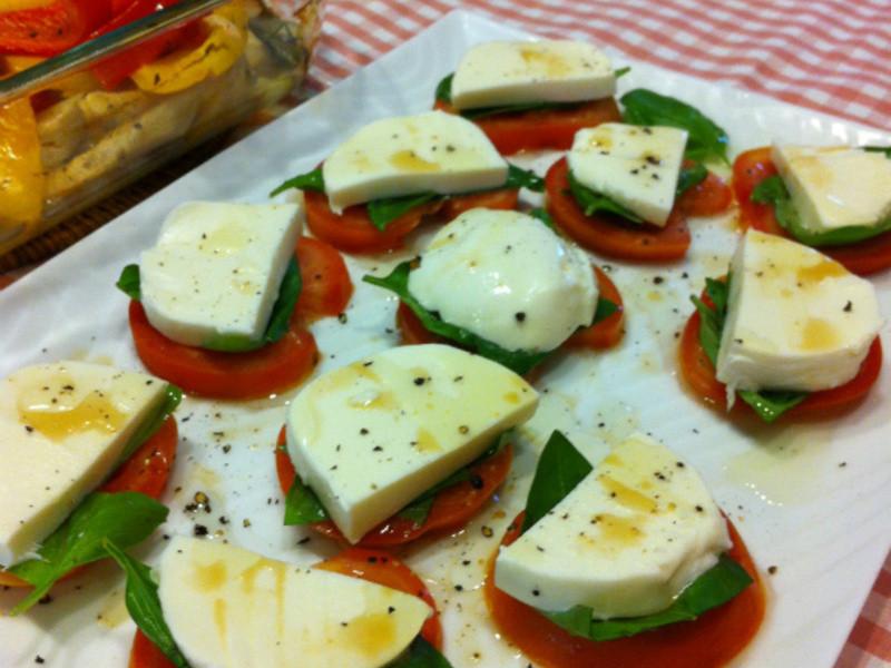 蕃茄起士沙拉 Caprese Salad