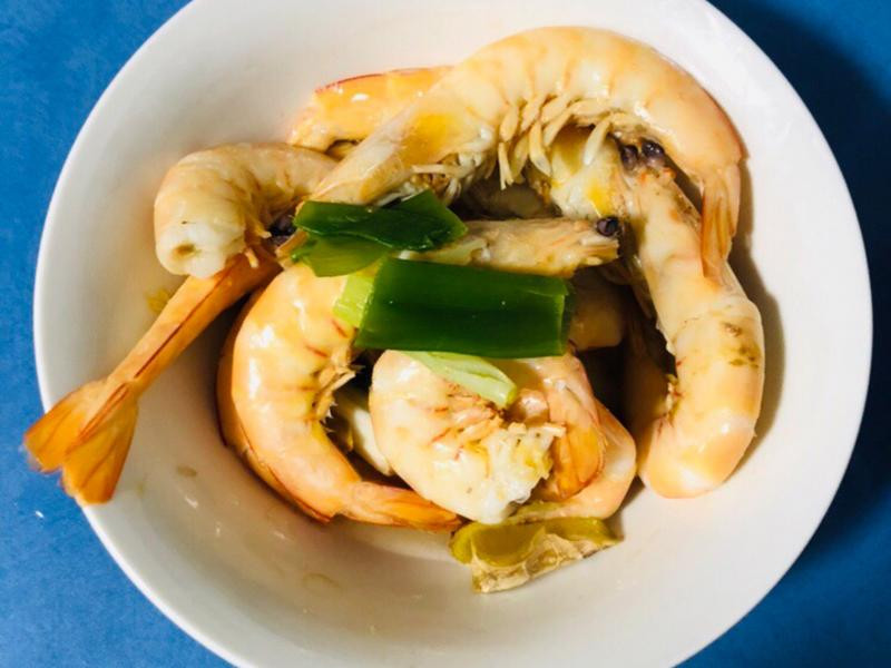 [澳洲]清蒸蝦子