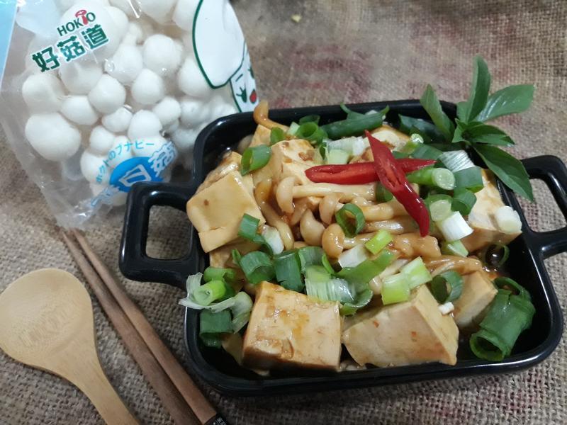 十分鐘鮮菇燒瓣醬豆腐【好菇道營養料理】
