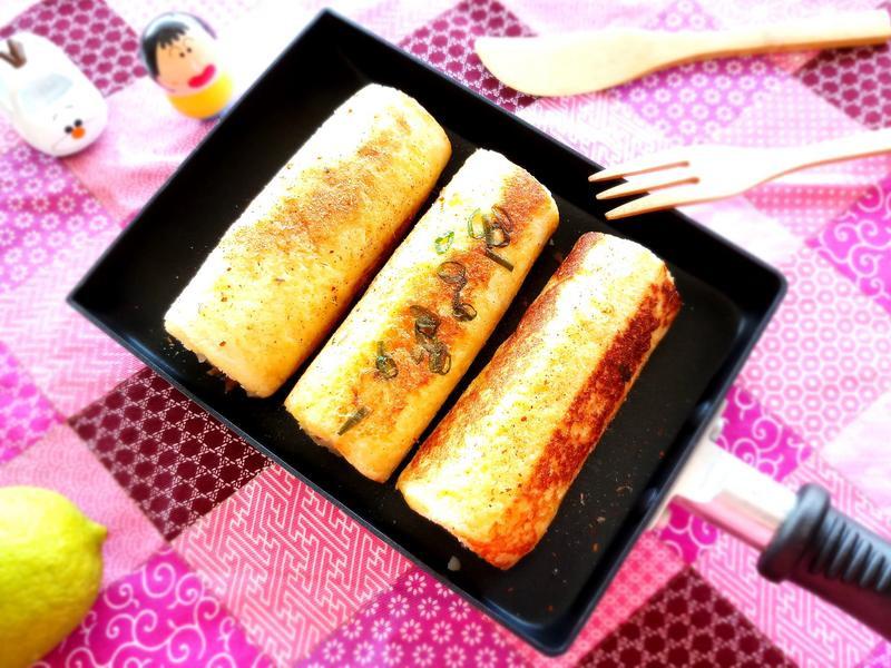 鹹香薯菇法式吐司捲【好菇道營養料理】