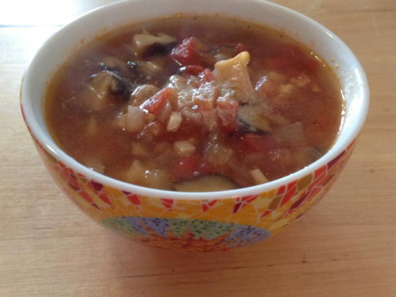 超美味蕃茄香菇湯