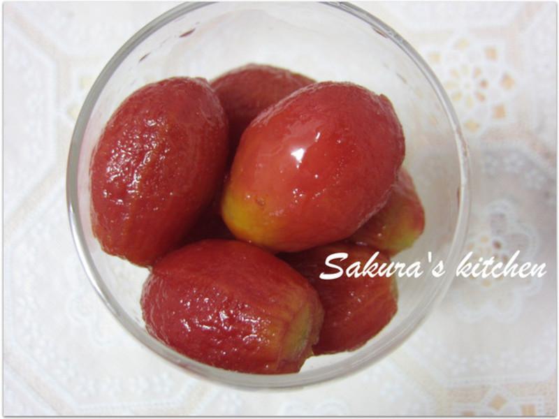 ♥我的手作料理♥ 梅汁番茄